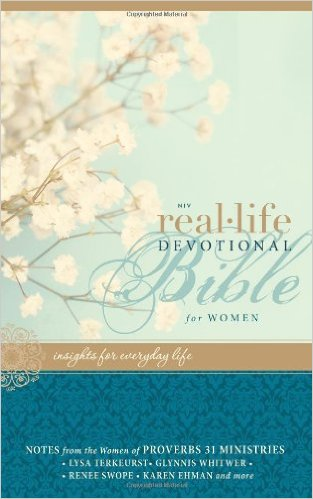 Real-Life Devotional Bible for Women-NIV