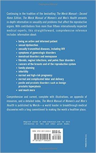 Merck Manual of Women's and Men's Health